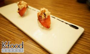 《義郎創作壽司》蕃茄蝦醬握壽司
