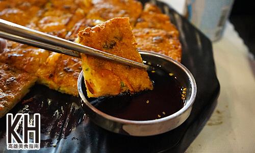 《江南大叔》海鮮煎餅沾醬