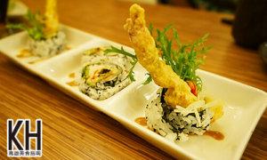 《義郎創作壽司》軟殼蟹壽司
