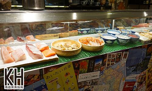 《風車驛站》生魚片、生蝦