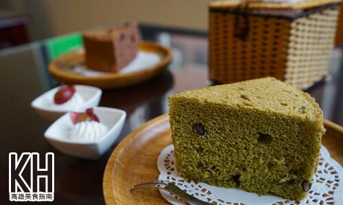 《常綠館》黃金天使蛋糕-紅豆抹茶