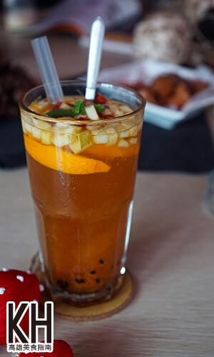 《暖暖輕食坊》熱帶繽紛水果茶