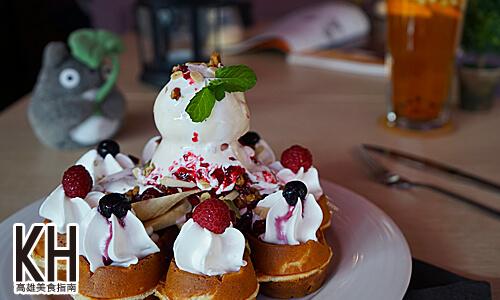 《暖暖輕食坊》野莓香蕉堅果鬆餅