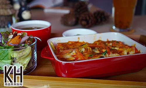 《暖暖輕食坊》匈牙利奶油鮮蔬野菇焗飯