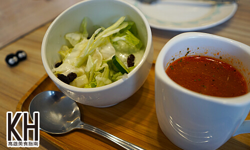 《Poppy Waffle》小沙拉與濃湯